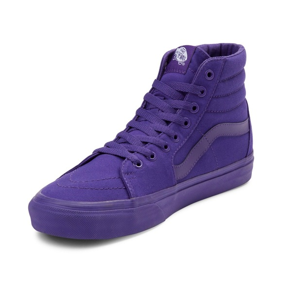 Vans Sk8 Hi Skate Shoe Purple Monochrome 9137a751ff